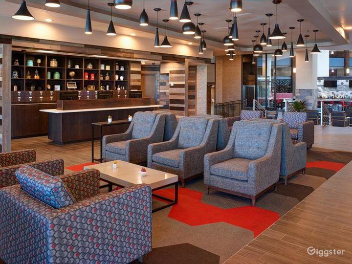Wurlitzer Event Room in Lavish Detroit Hotel Photo 4