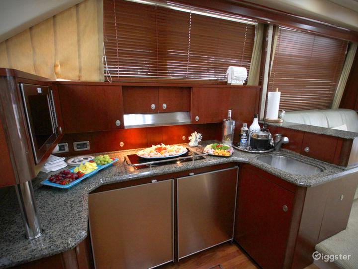 Premium 55FT FLYBRIDGE Party Yacht Space Events Photo 4