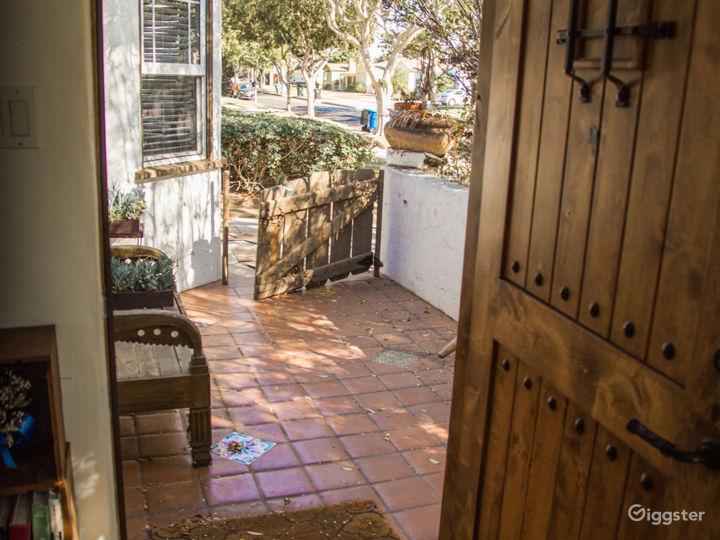 Bohemian Spanish Cottage with Huge Backyard