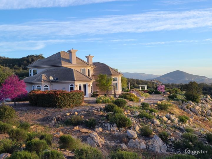 Mansion In The Hills 10 Acre Elegant Estate Home Photo 4