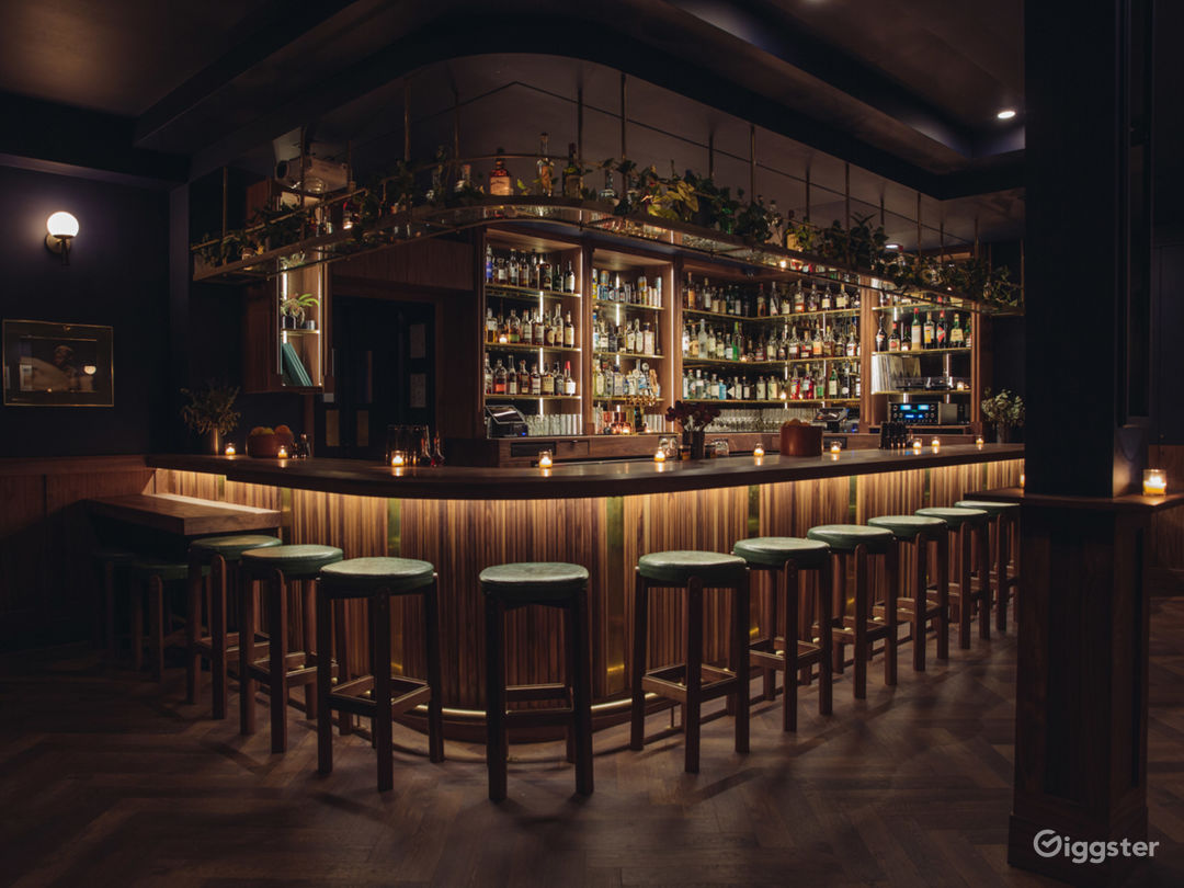 Beautiful Mid-Century (ish) Bar Photo 2
