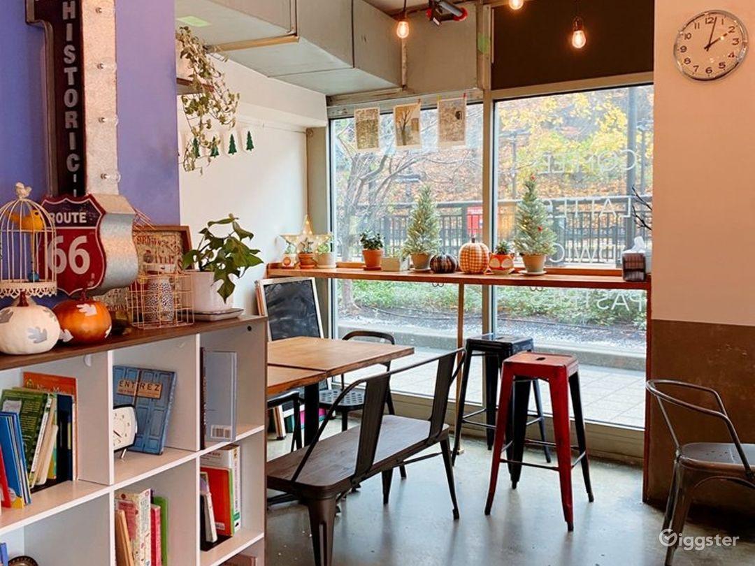 Cozy Coffee Shop in Hoboken Photo 1