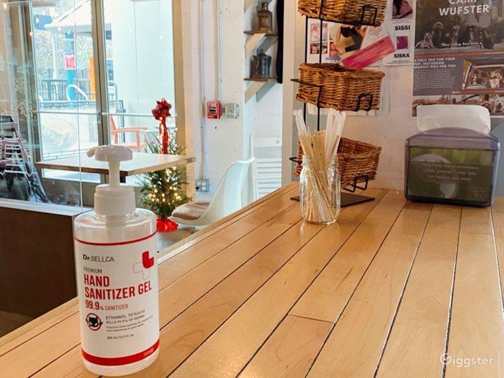Cozy Coffee Shop in Hoboken Photo 4