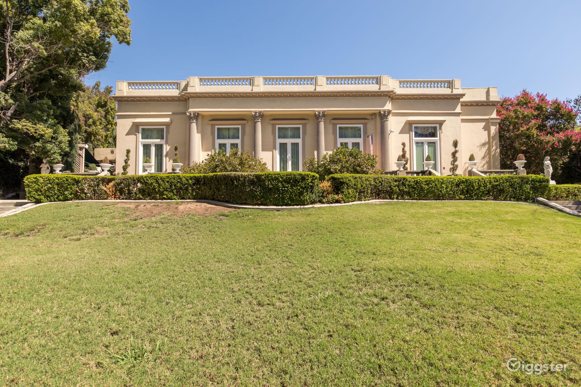 Old Hollywood Home in Pasadena Los Angeles Rental