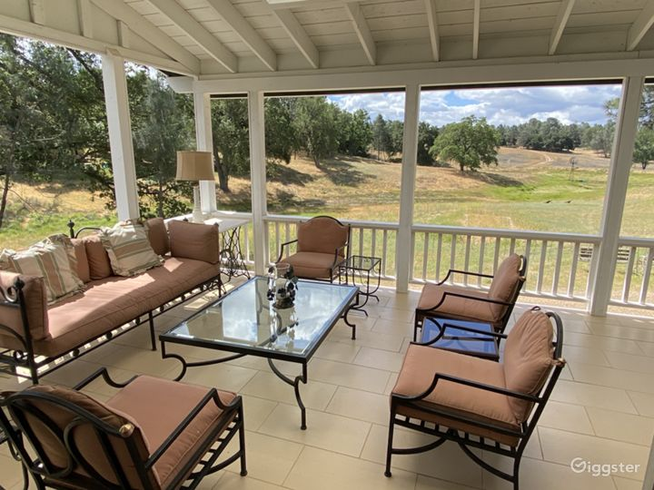 California Wine Country Rustic Ranch Estate Photo 3
