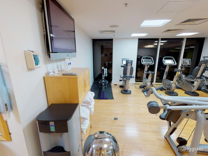 Hotel Gym with an Amazing view in Cardiff Photo 4