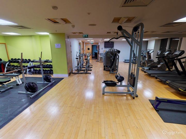 Hotel Gym with an Amazing view in Cardiff Photo 5