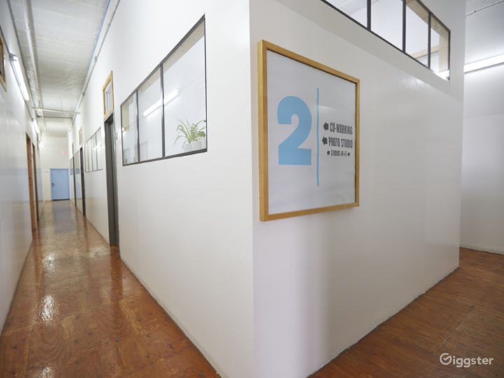 Photo Studio with Cyclorama Wall and Natural Light Photo 2