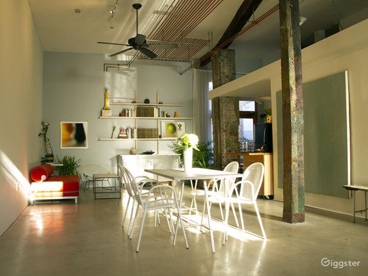 Rustic loft, modern kitchen, private garden