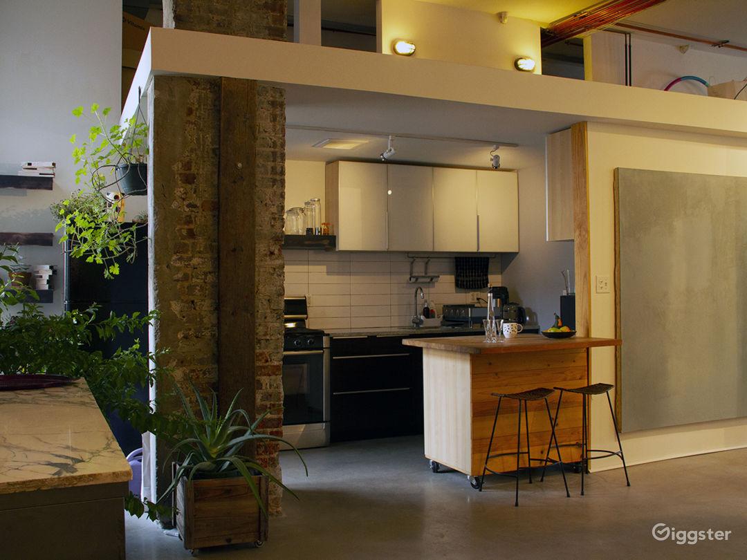 Rustic loft, modern kitchen, private garden Photo 3