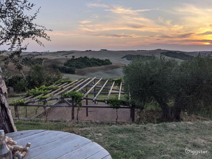 Tuscan Views @ Tuscany Italy Film Photo Location