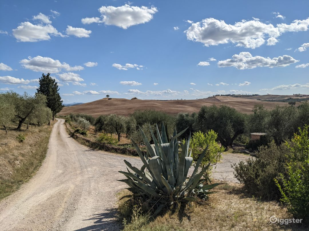 Stunning 100 acres of Italian Tuscan landscapes, property, and farm houses