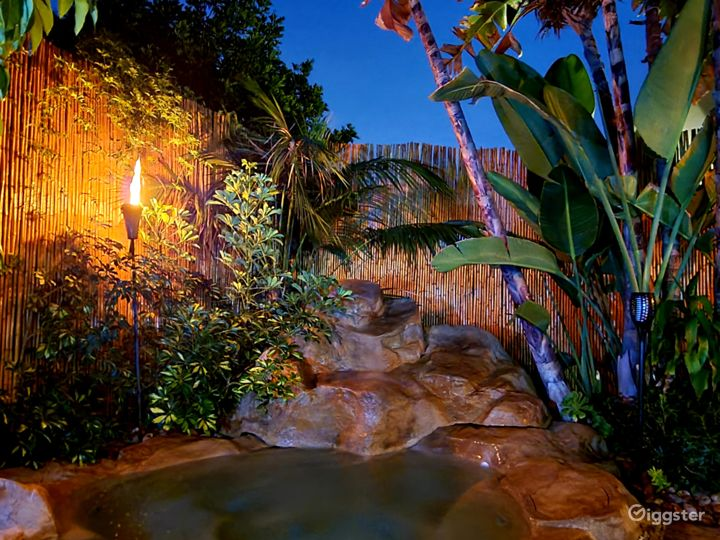 Tropical ambience.