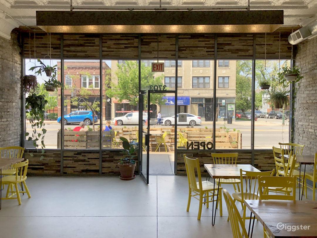 Sandwich shop and Rustic Garden Photo 1