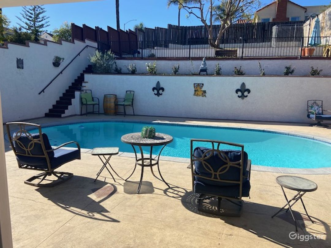 Beautiful L.A. Home with Pool and View Photo 1