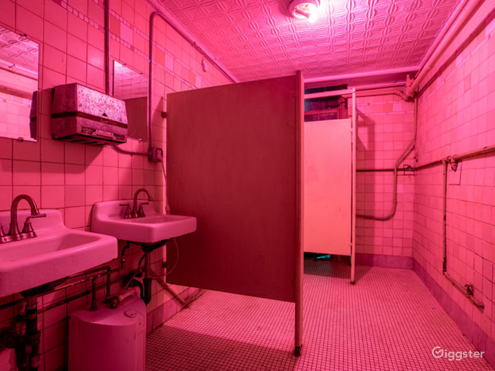 Raw Historic Surreal Locker Room Photo 5
