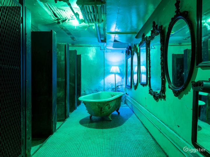 Raw Historic Surreal Locker Room Photo 2