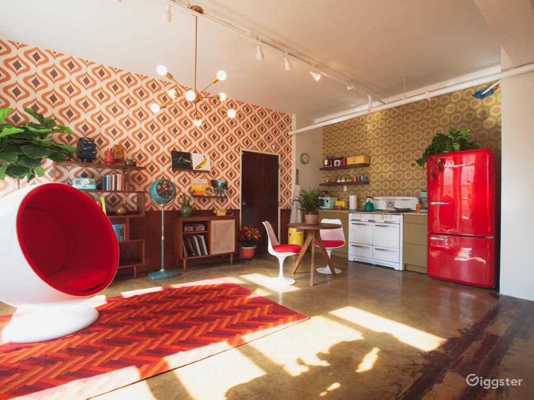 1960s Retro DTLA Loft w/ Kitchen Photo 3
