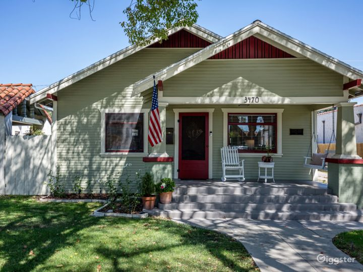 1925 California Craftsman in Historic Cal Heights