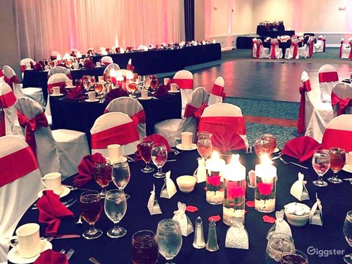 Delightful Ballroom in Fredericksburg