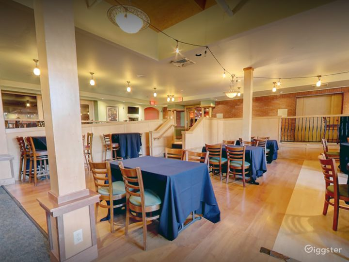 A Spacious Banquet Area Great for Weddings Photo 5
