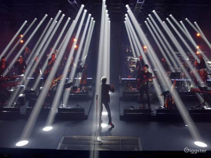"""Studio A: 7000 sq/ft  Marc Anthony """"One Night Only"""" streaming concert"""