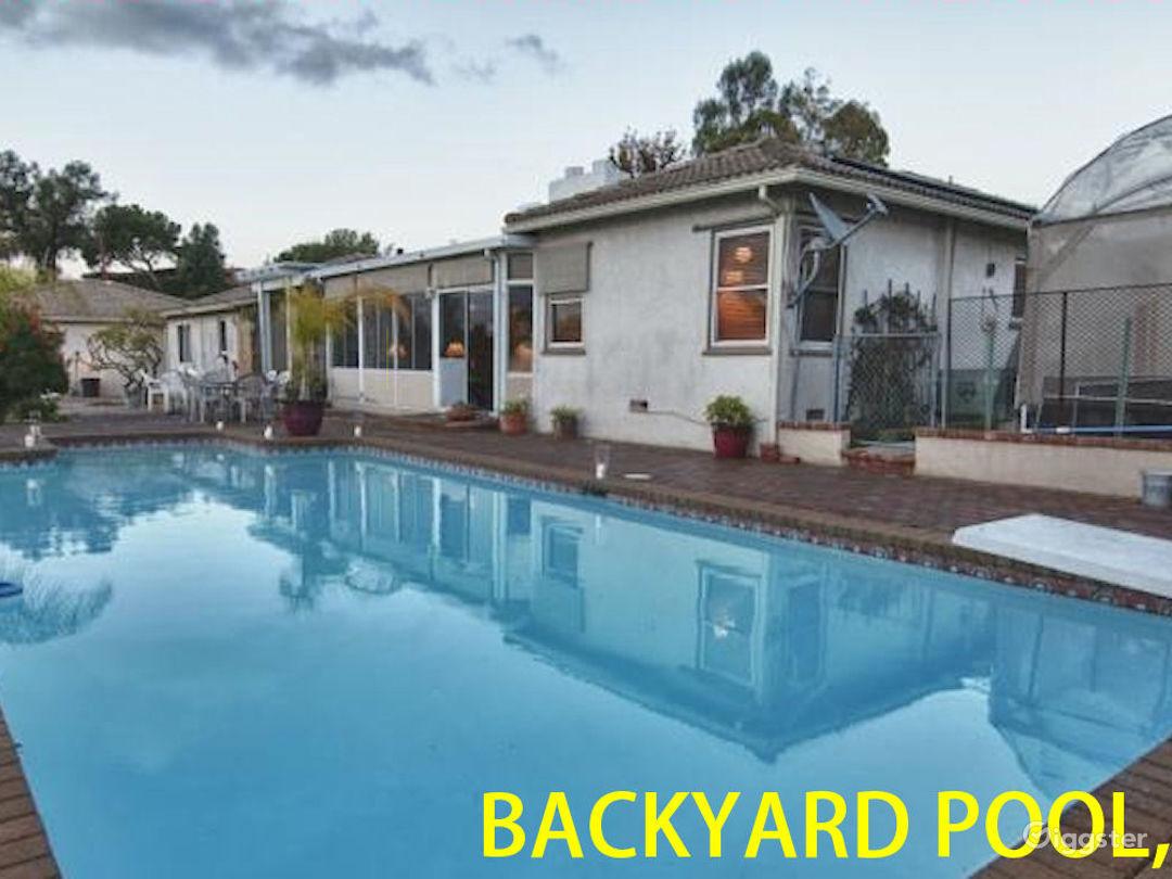 BACKYARD POOL, 31 2669 ARDSHEAL DRIVE, LA HABRA HEIGHTS, CA, LOS ANGELES COUNTY