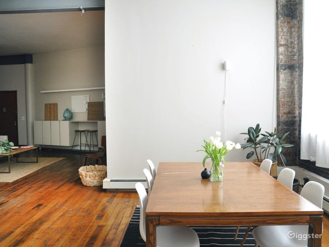 Brooklyn Oasis Loft: Bright Industrial Loft Photo 4