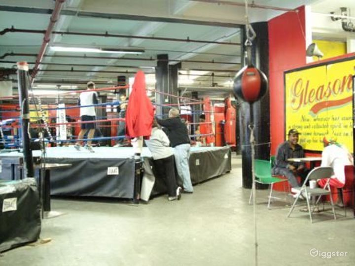 Boxing gym and trying facility: Location 4092 Photo 2