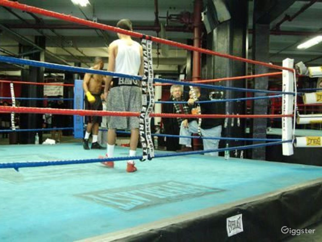 Boxing gym and trying facility: Location 4092 Photo 1