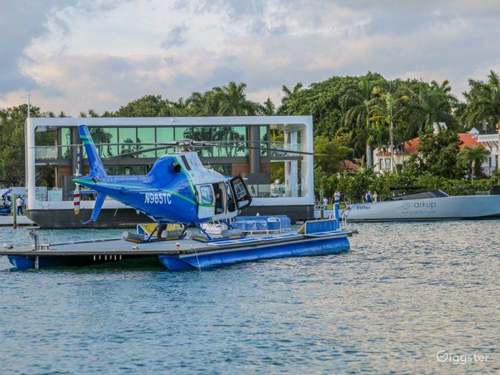 Heliboat®, Seaplane Dock - Open Deck Area Vessel Photo 4