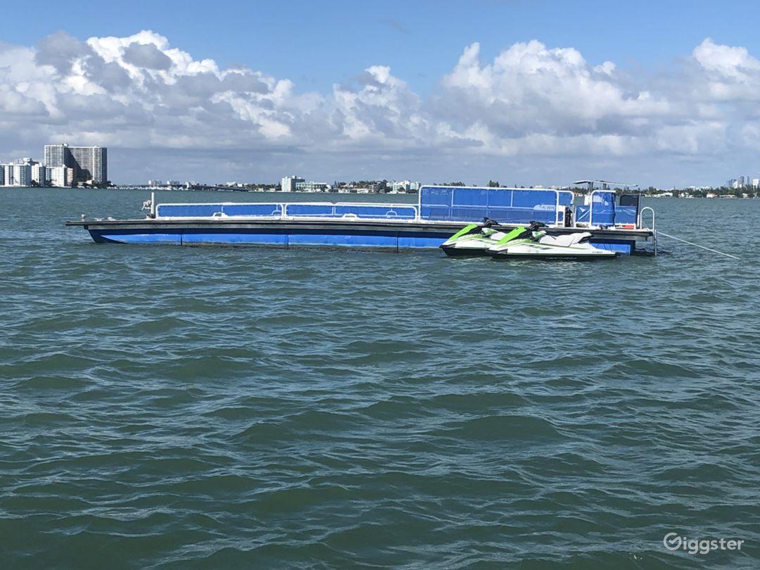Heliboat®, Seaplane Dock - Open Deck Area Vessel Photo 1