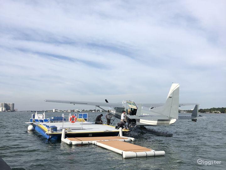 Heliboat®, Seaplane Dock - Open Deck Area Vessel Photo 3