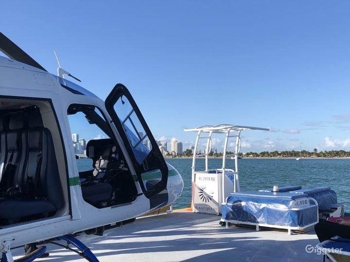 Heliboat®, Seaplane Dock - Open Deck Area Vessel Photo 2