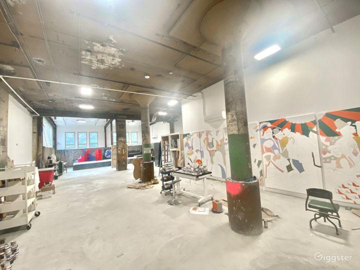 Big, bright, creative studio Photo 4