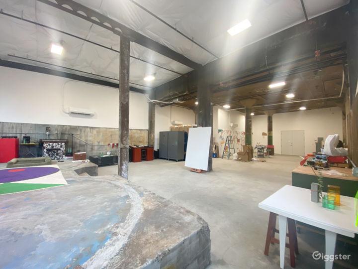 Big, bright, creative studio Photo 3