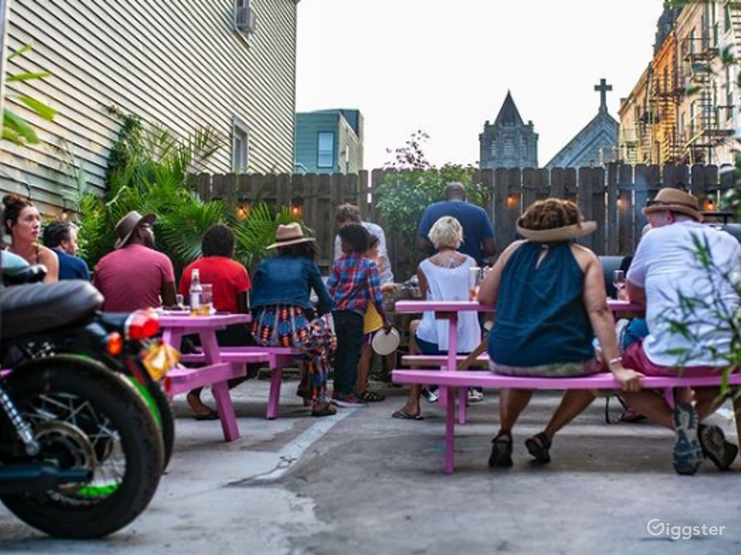 Spacious Backyard Patio in Jersey City  Photo 1