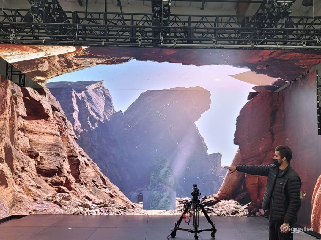 LED Video walls for immersive environment