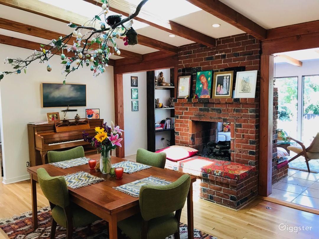 Open plan Dining/Living room