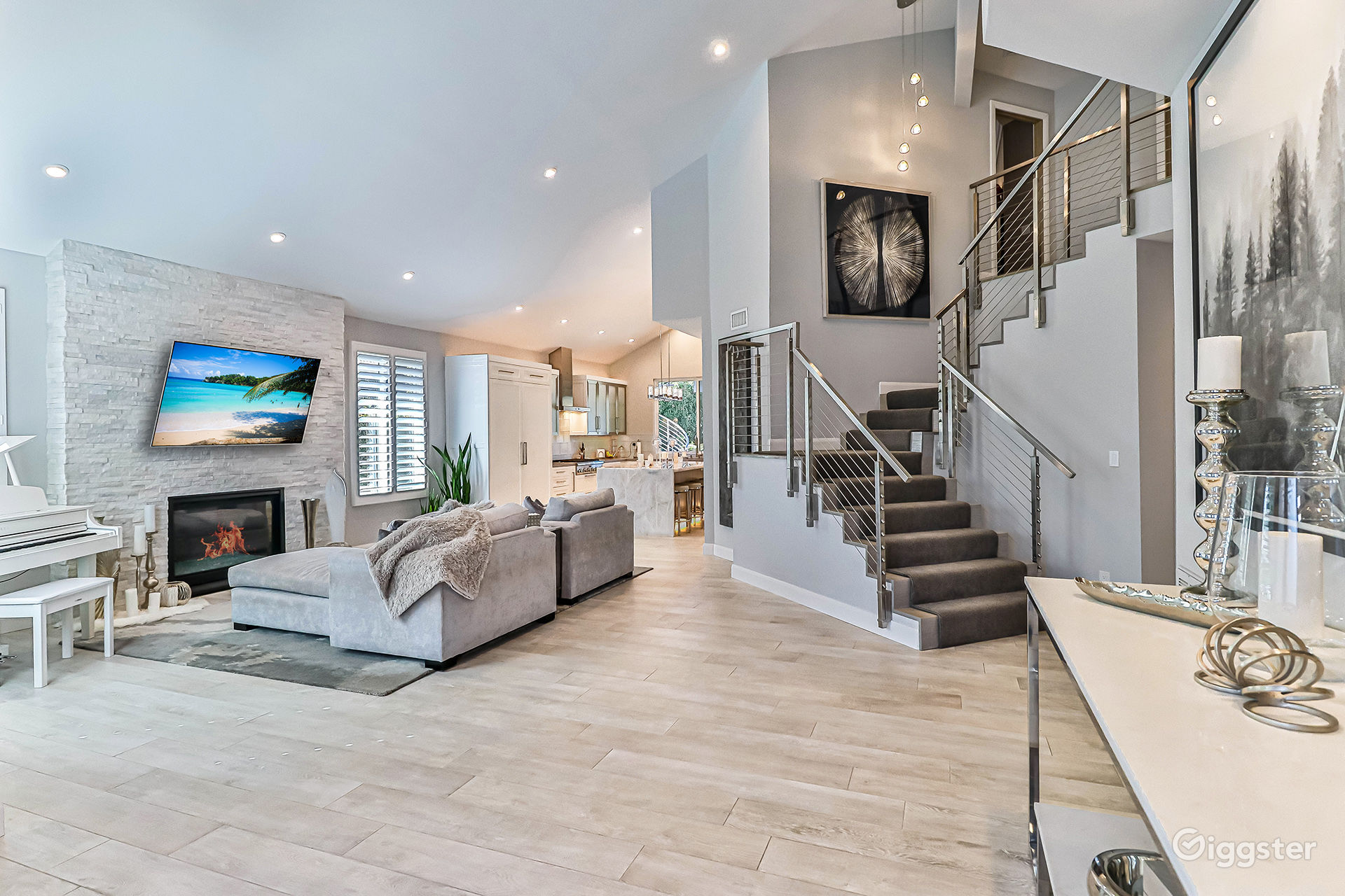 Brand New Contemporary Remodel Open