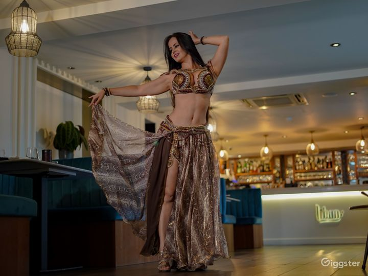 Souk Lounge with Imported Mosaic Tiles Photo 4