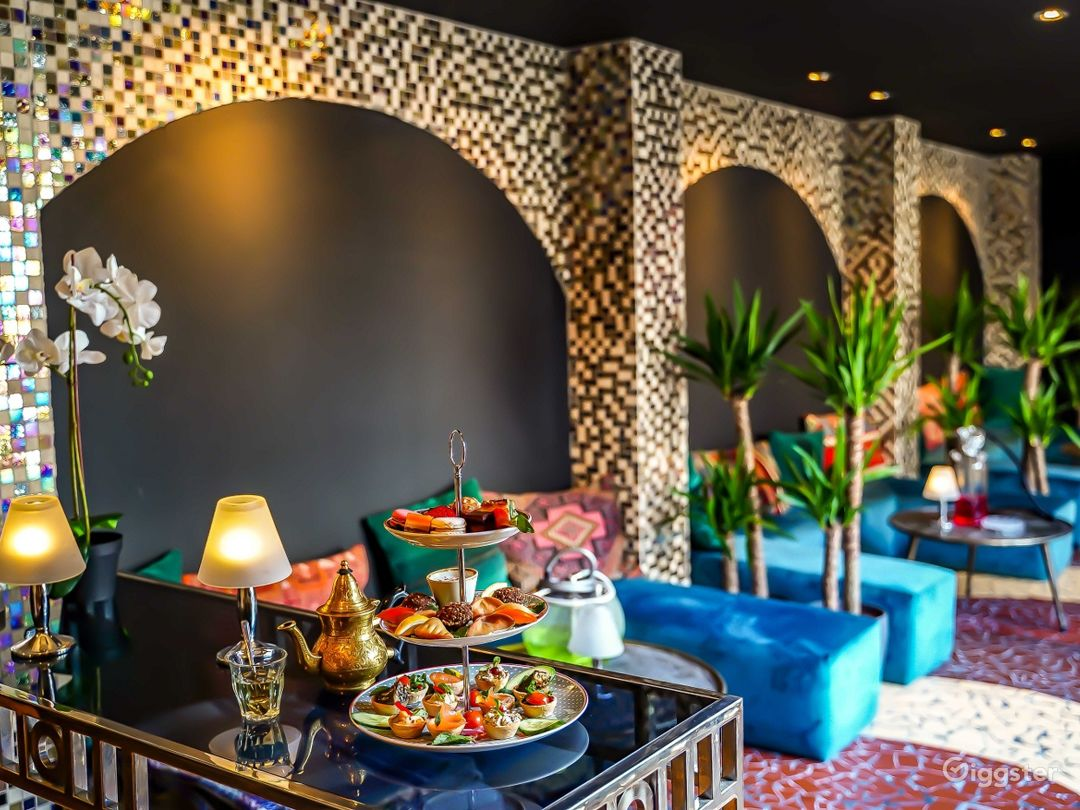 Souk Lounge with Imported Mosaic Tiles Photo 1