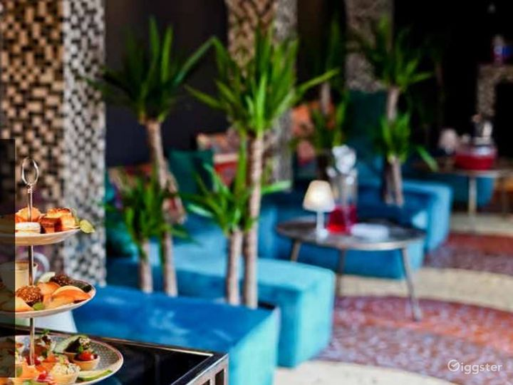 Souk Lounge with Imported Mosaic Tiles Photo 2
