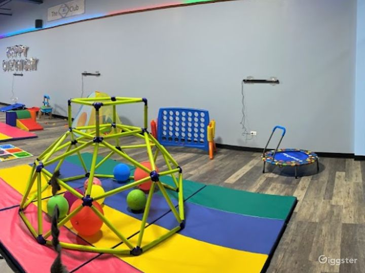 Endlessly Energetic Toddler Playing Area Photo 2