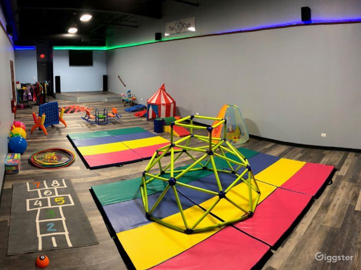 Endlessly Energetic Toddler Playing Area Photo 3