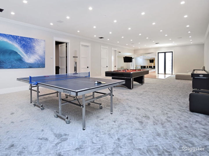 Modern Cape Cod with Basketball Court Photo 5