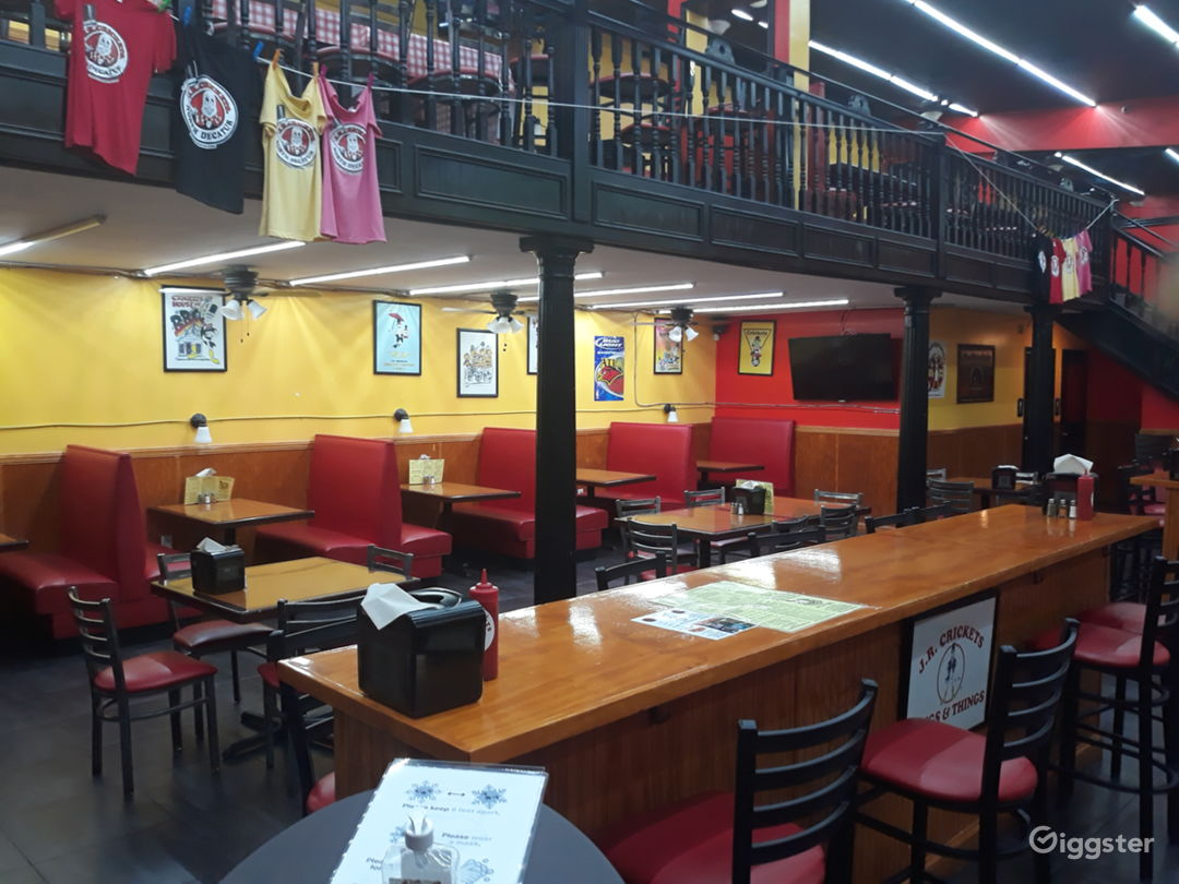Fun and Spacious Lower Level Restaurant, Event Space in Decatur Photo 1