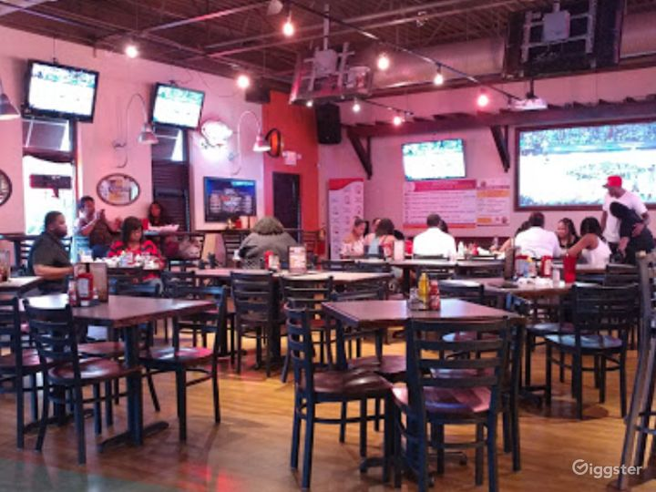 Fun and Spacious Lower Level Restaurant, Event Space in Decatur Photo 3