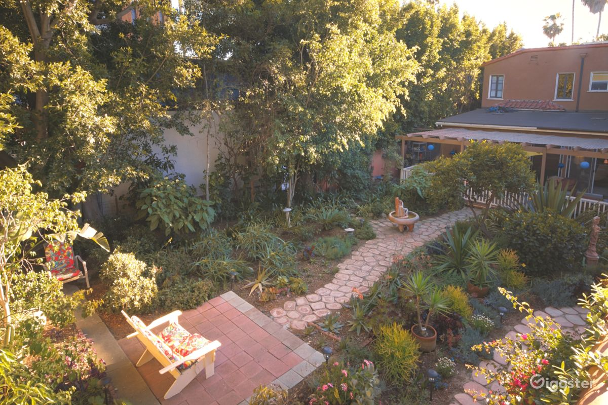 Rent The House(residential) Beautiful Lush Backyard For Filming/Venue Rental!  For