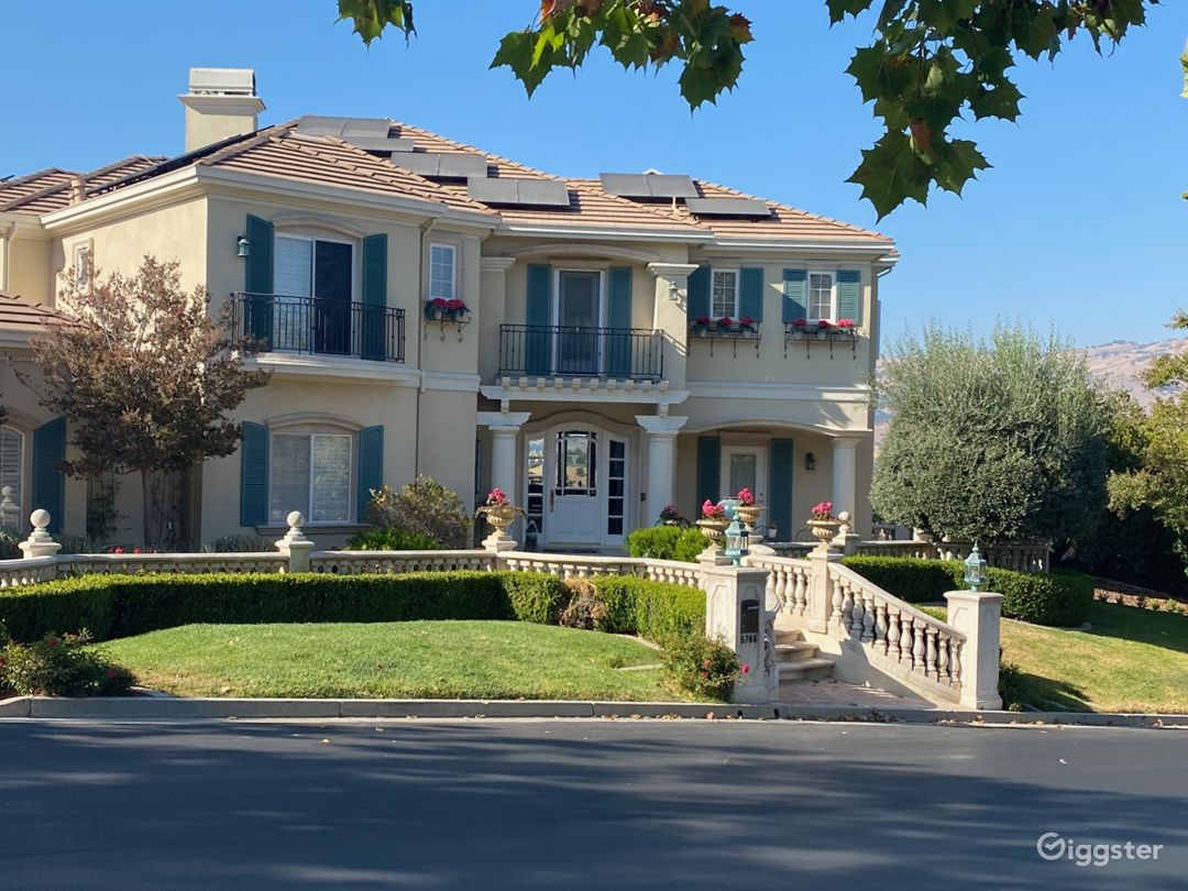 French Chateau in San Jose, CA Photo 1